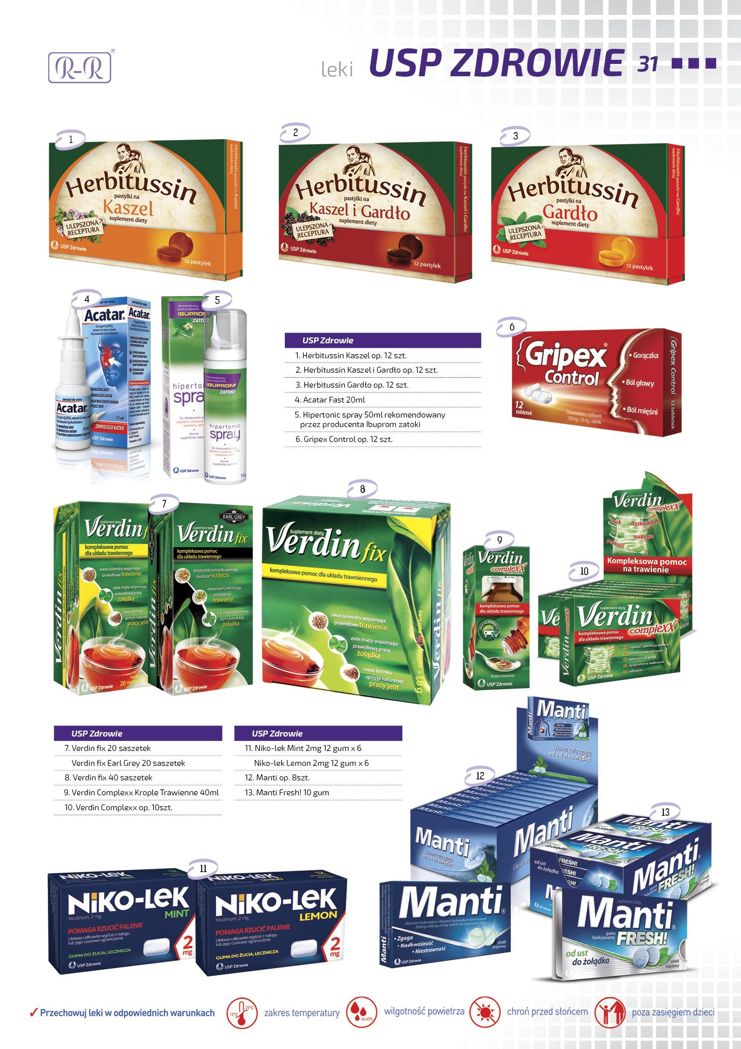Tabletki USP Zdrowie